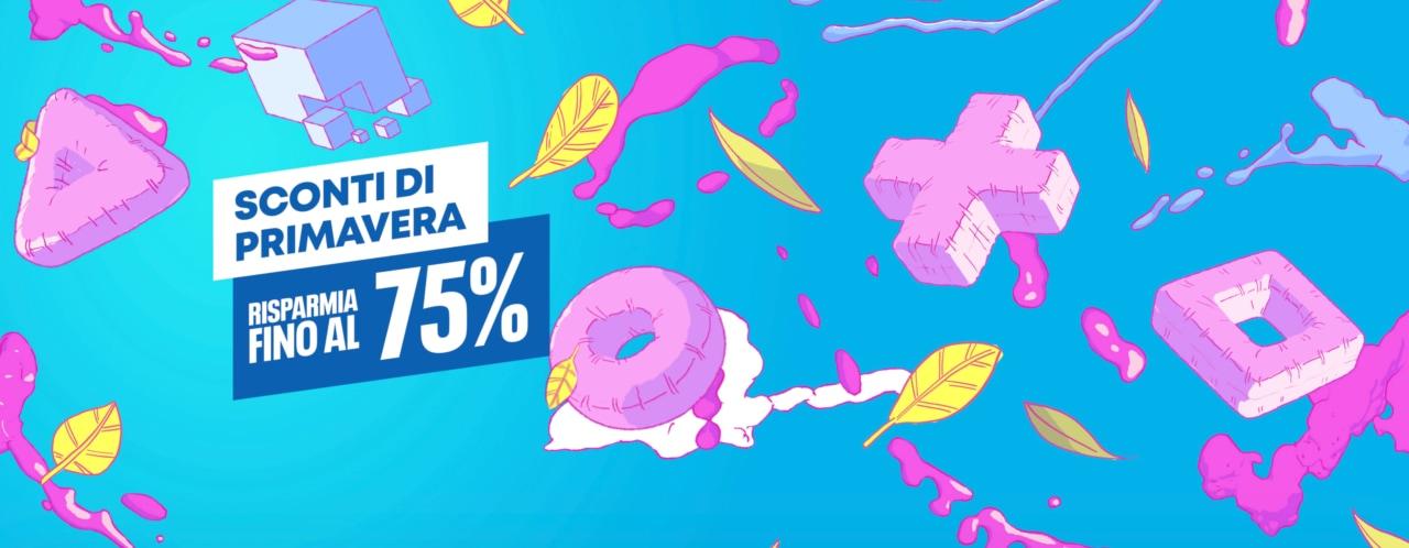 La primavera sbarca sul PS Store con i suoi sconti fino al 75% su moltissimi giochi
