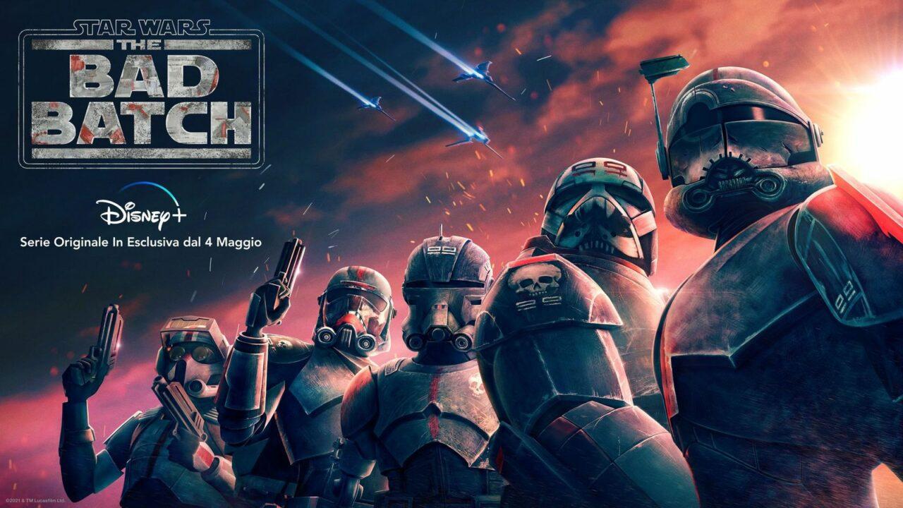 I cloni tornano in Star Wars: The Bad Batch, disponibile da maggio su Disney+ (video)