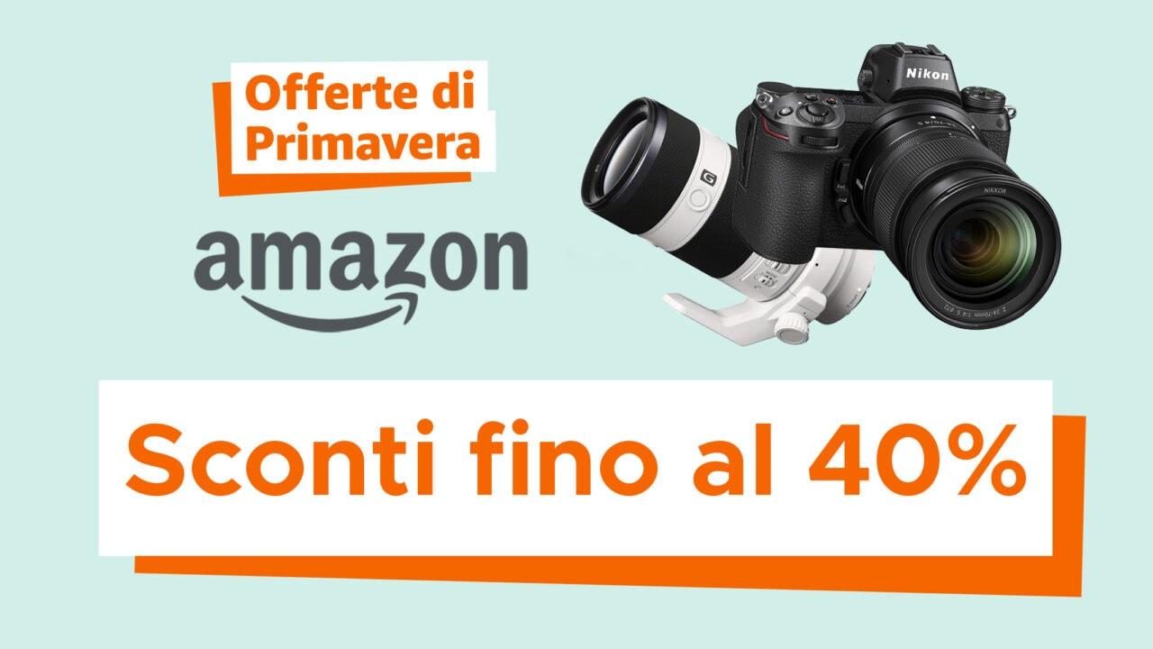 Migliori Fotocamere in Offerte di Primavera Amazon: Sony, Nikon, Fujifilm, Panasonic, DJI e altro