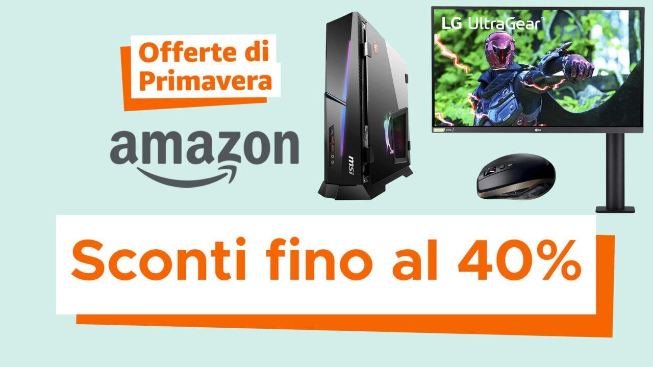 Migliori Offerte di Primavera Amazon di informatica