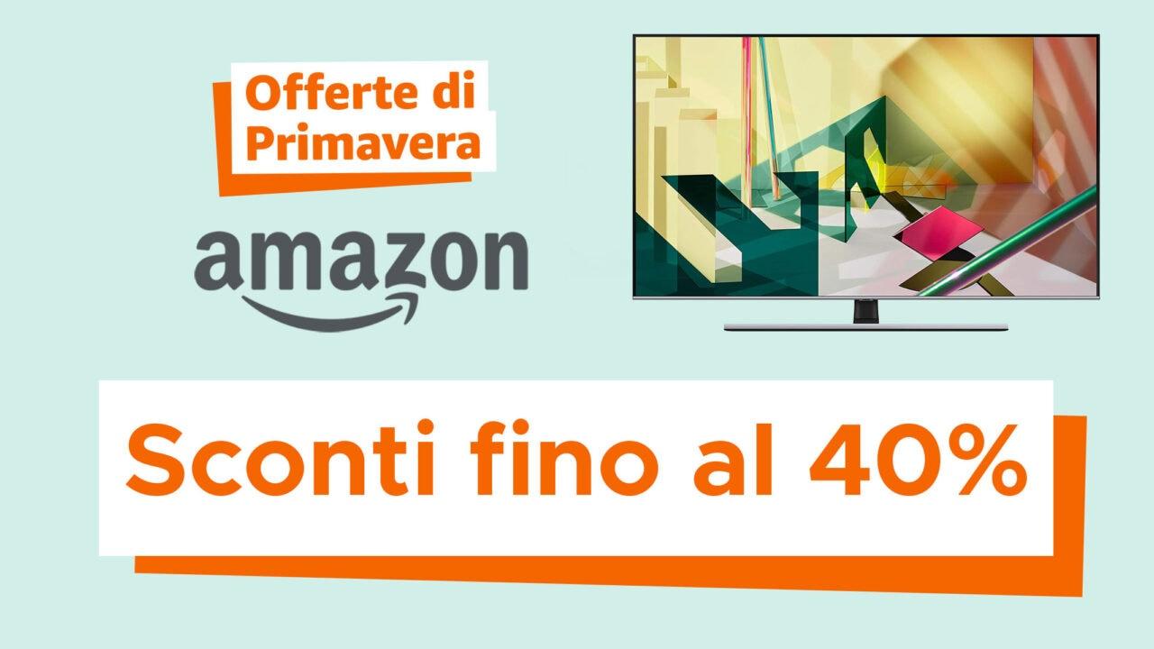 Offerte di Primavera Amazon: i TV, i videoproiettori e le soundar con i maggiori sconti