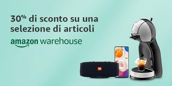 Grandi affari su Amazon Warehouse! Scont …