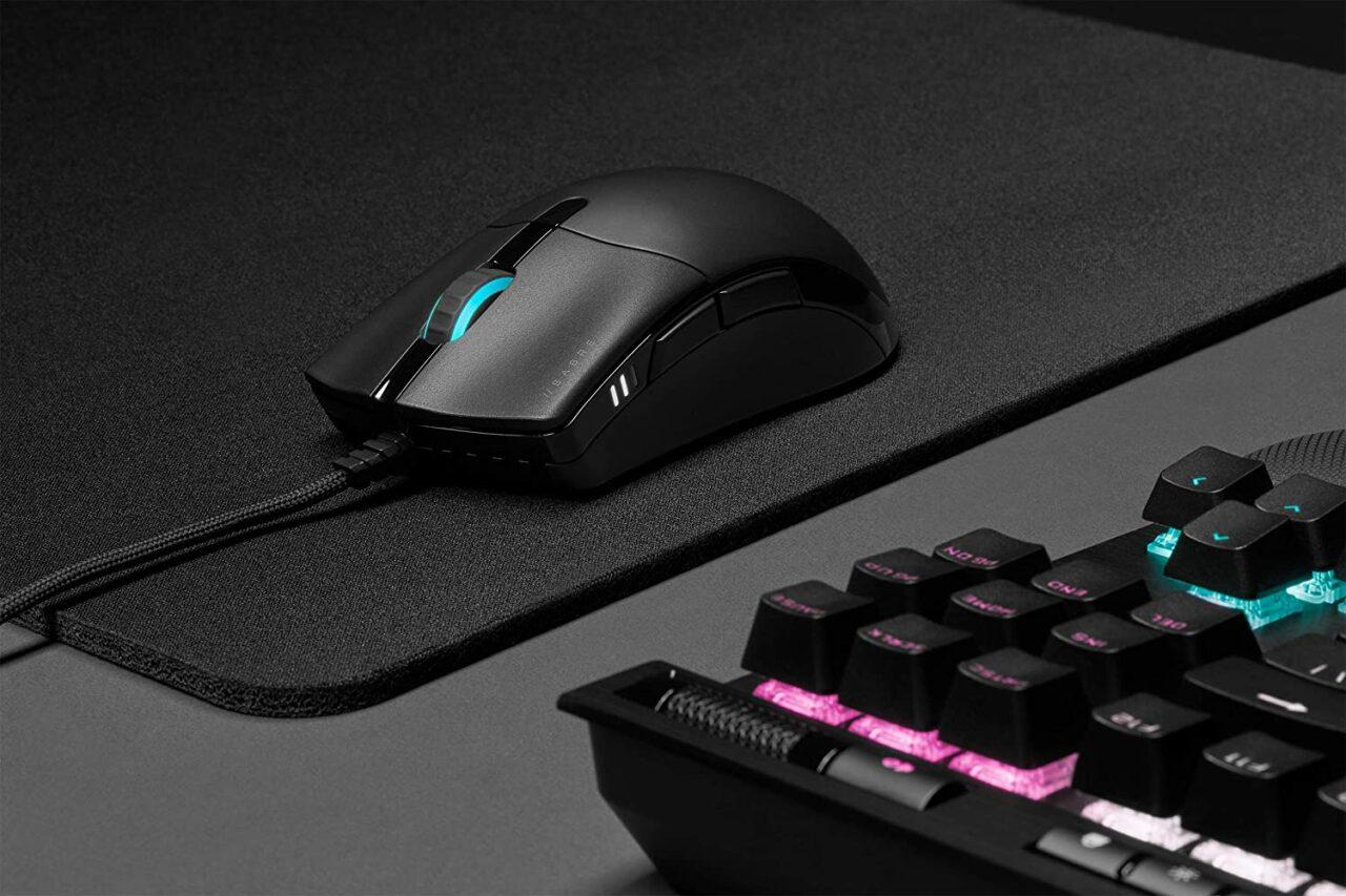 Mouse GAMING da veri PRO? Il nuovo Corsair SABRE PRO in offerta Amazon a soli 39€