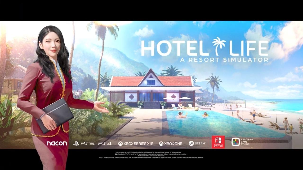 Costruite il resort dei vostri sogni con Hotel Life - A Resort Simulator in arrivo quest'estate su console e PC (video)