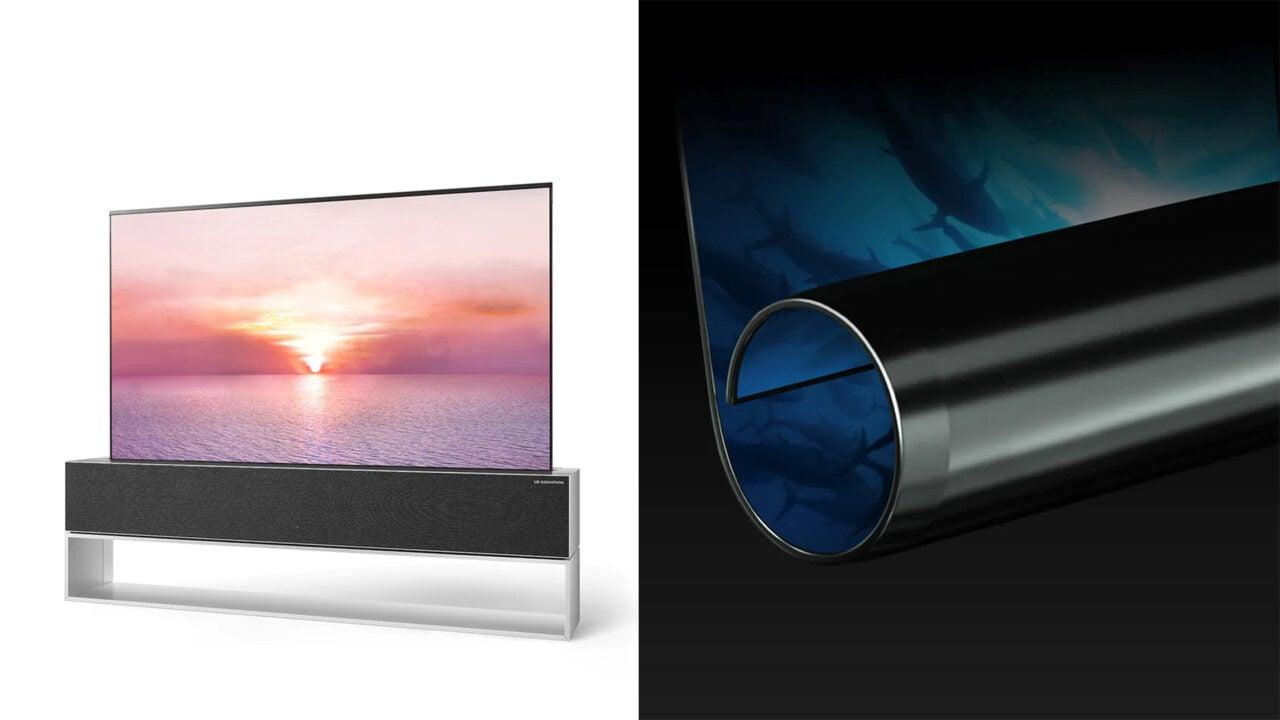 Per circa 100.000€ potrete acquistare il TV arrotolabile di LG anche in Italia