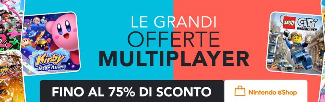Le grandi offerte multiplayer arrivano sul Nintendo eShop con sconti fino al 75%