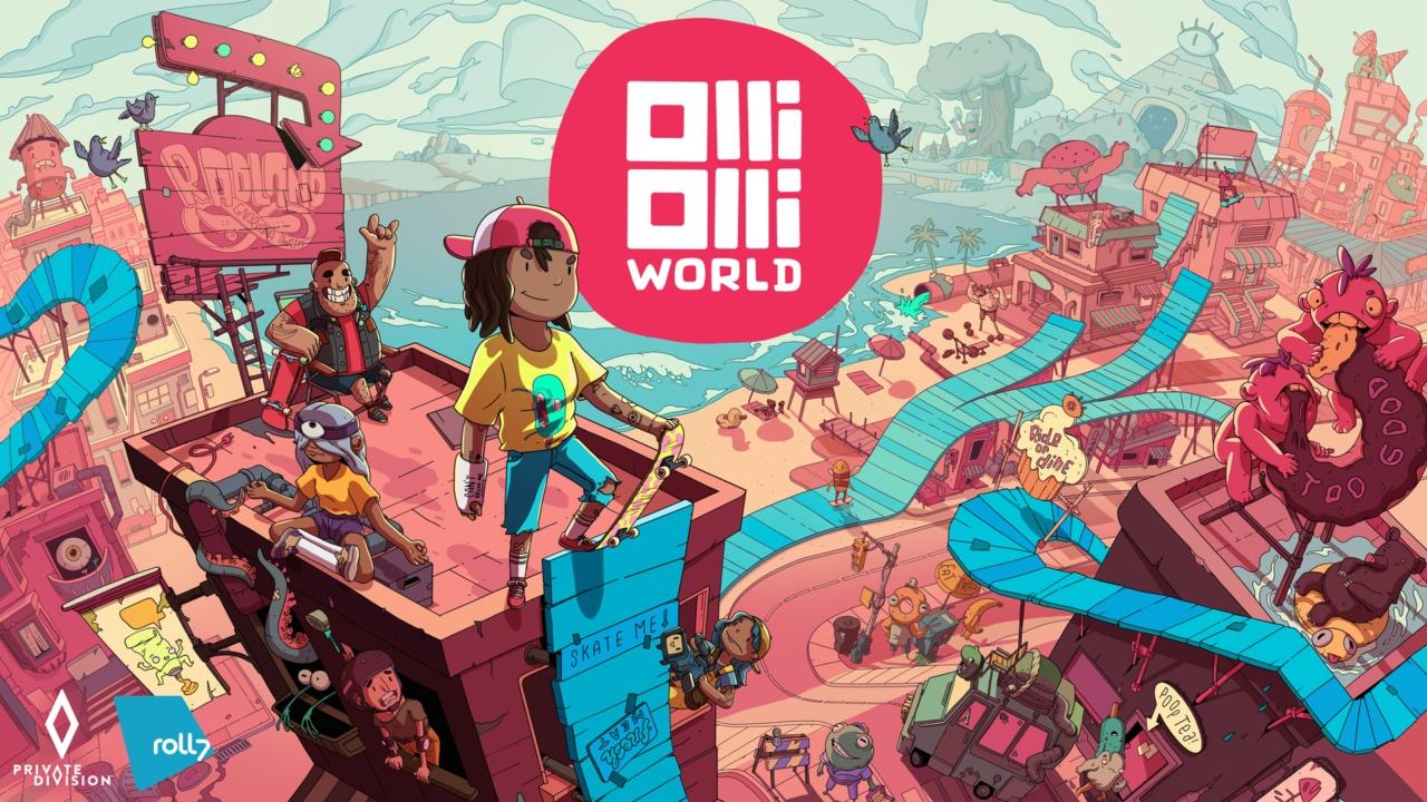 In OlliOlli World il mondo è visto in sella ad uno skate: in arrivo quest'inverno per console e PC (video e foto)