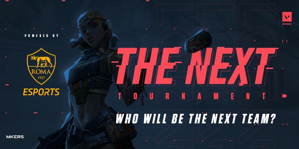 Al via The Next: il torneo di Valorant messo su da Mkers e AS Roma