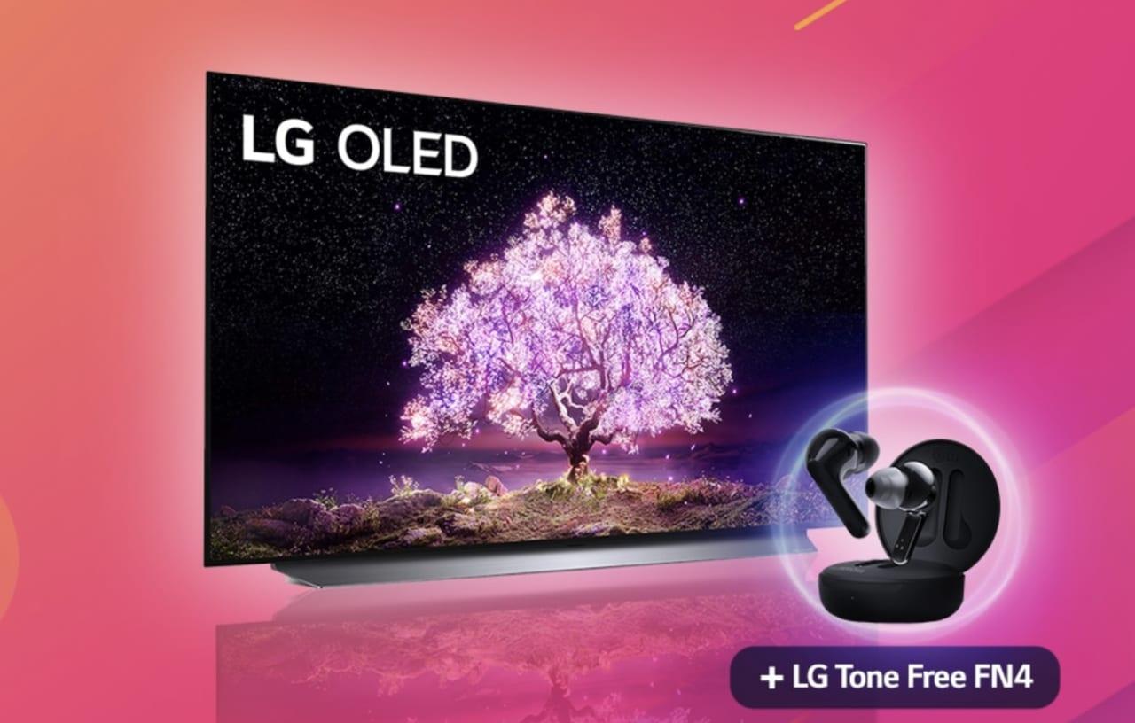Promo LG: la recensione sull'OLED TV 2021 regala ai clienti le cuffie Bluetooth FN4