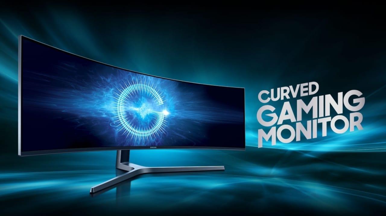 """Monitor Gaming Samsung da 49"""" in SCONTO su Amazon: curvo, 144 Hz e 1 ms"""