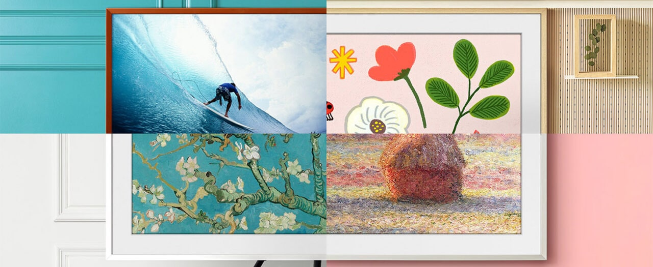 Samsung The Frame 2021 in OFFERTA su Amazon: nuovi e belli come un quadro!