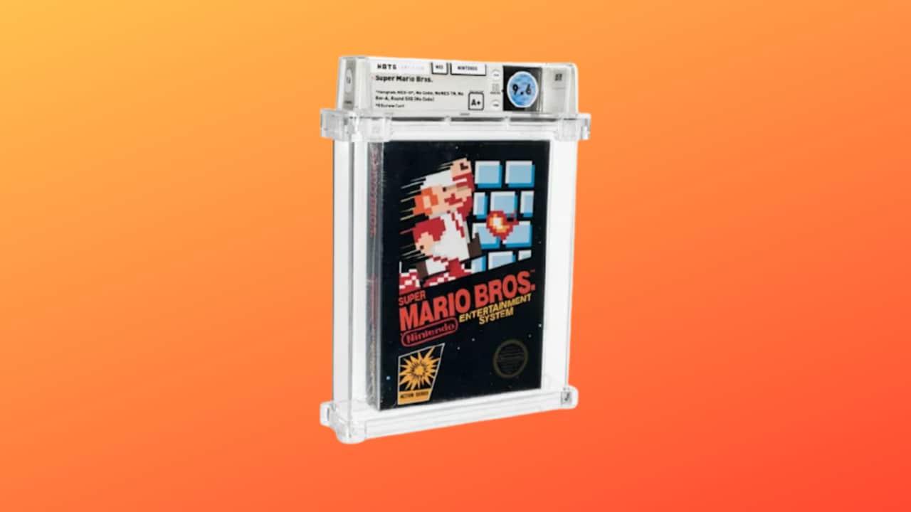 """Questa copia sigillata di """"Super Mario Bros."""" è stata appena venduta per 660.000$"""