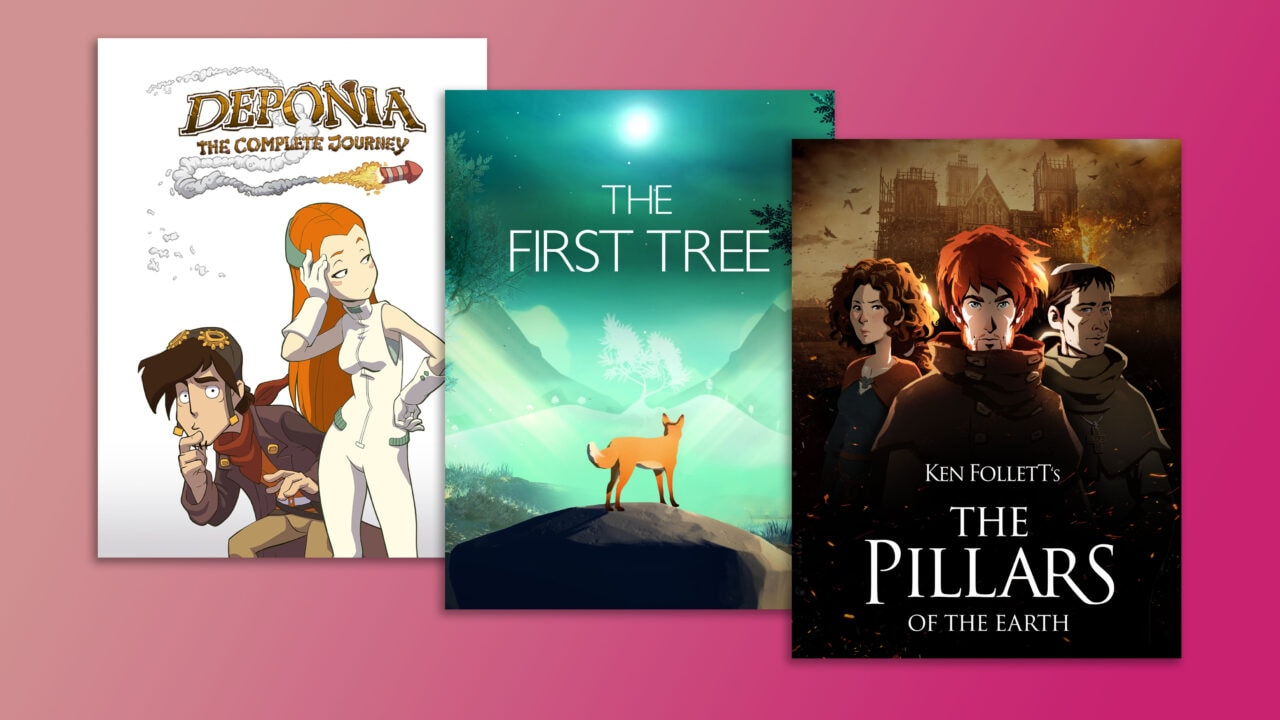 Deponia, The First Tree e The Pillars of the Earth GRATIS su Epic Games Store dal 15 al 22 aprile (video)