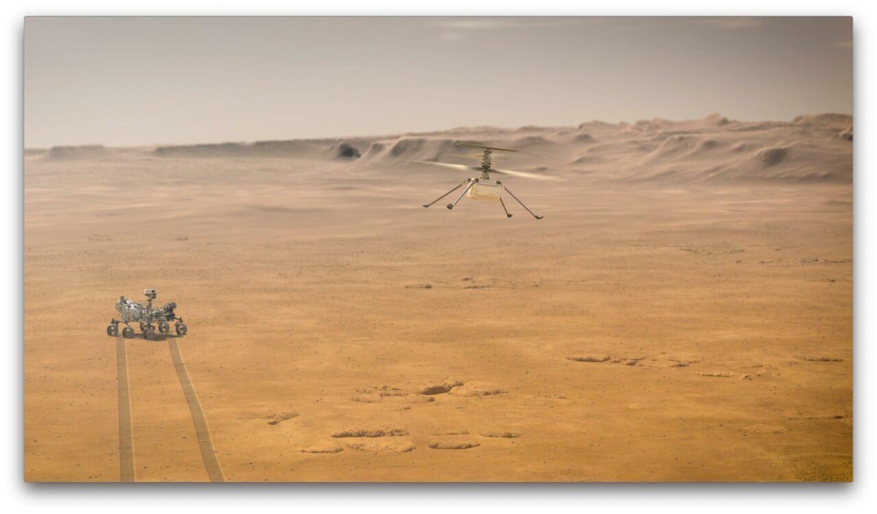 Il primo volo della storia su Marte è realtà! (aggiornato: e 3!)