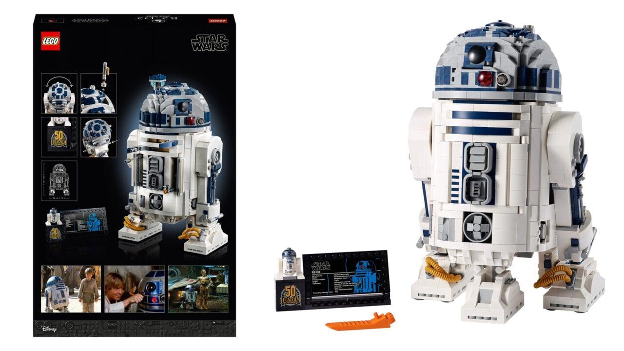 Il nuovo LEGO Star Wars RD-D2 è ufficiale: 2.314 pezzi per assemblare l'iconico droide (foto)