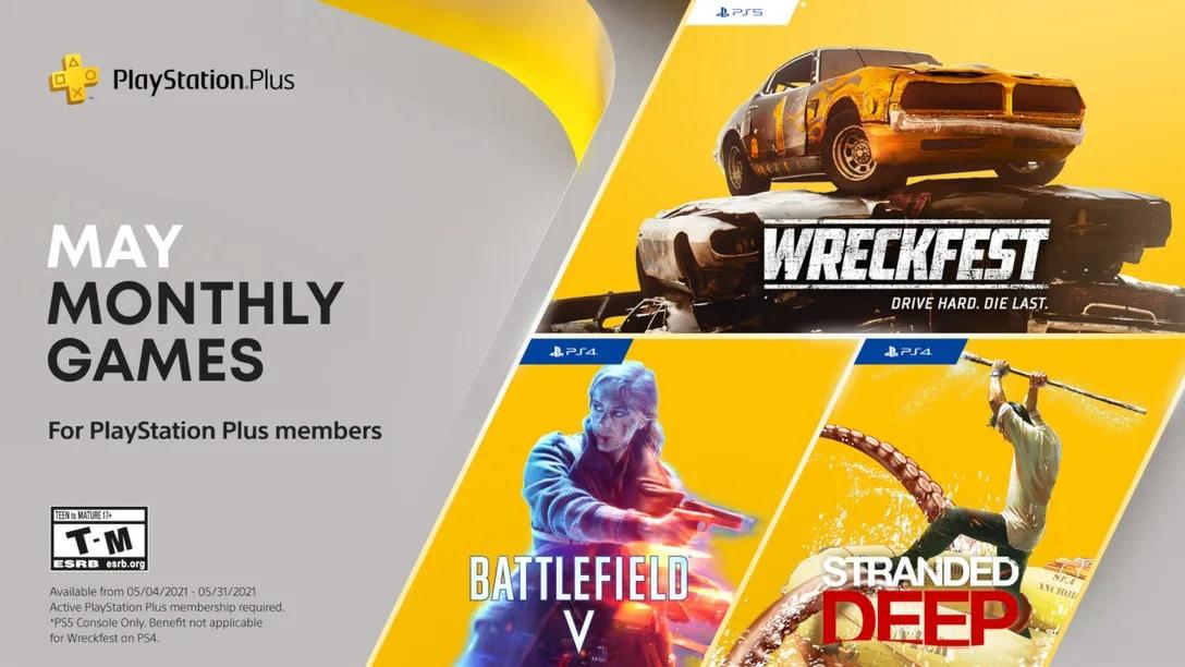 Giochi gratis di maggio con PS Plus: arriva anche Battlefield V