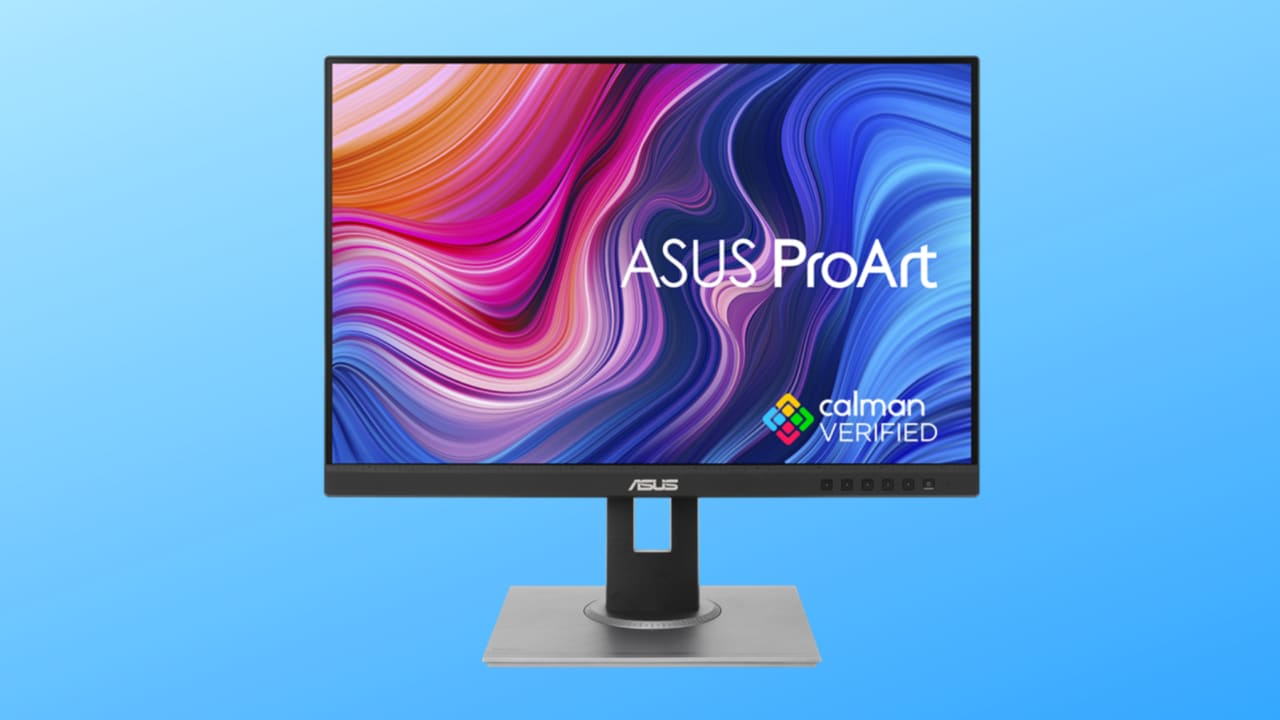 ASUS ProArt in sconto a 349€: monitor per professionisti dell'editing foto e video