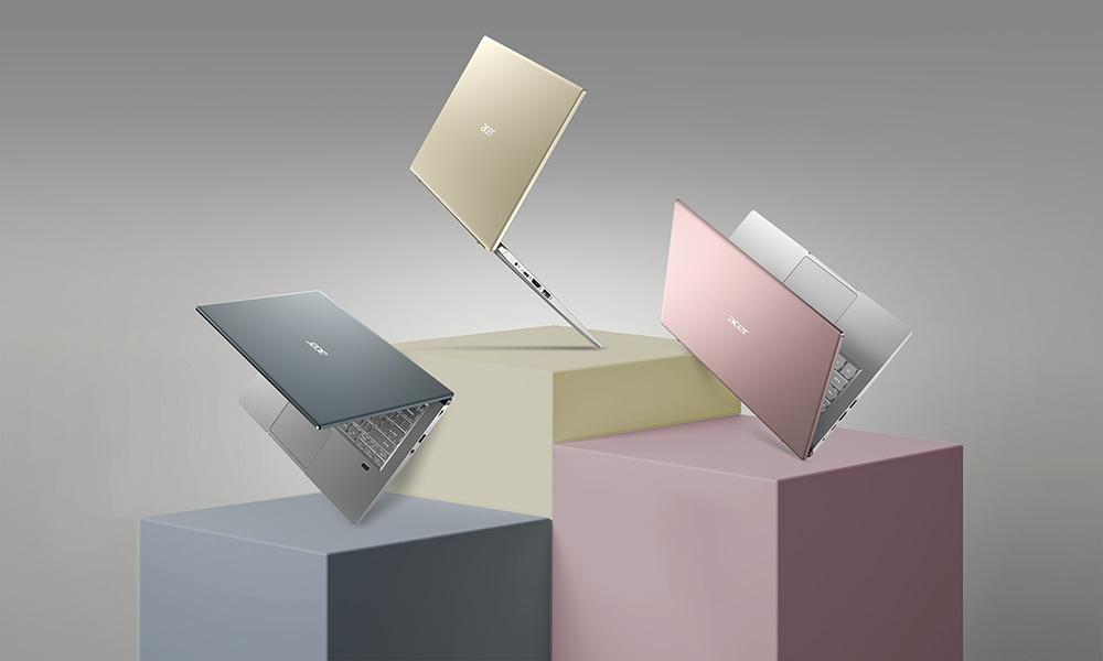 Acer Swift X racchiude un Ryzen 5000 ed una RTX 3050 Ti in meno di 1,4 Kg (foto)