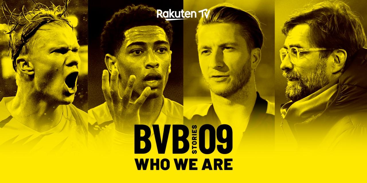 BVB 09 Stories, la docuserie sul Borussia Dortmund gratis per tutti su Rakuten TV