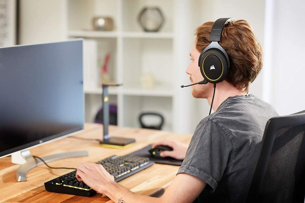 Offerte Amazon Corsair: cuffie, tastiera da gaming e mouse a partire da 39€