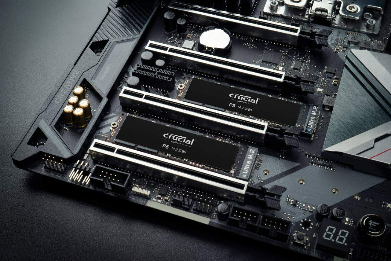 SSD M.2 a prezzi mai visti! Crucial P5 e P5 Plus in offerta su Amazon