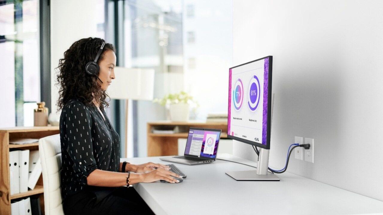 Vorrei tanto questo monitor Dell 32'' 4K sulla mia scrivania (foto)