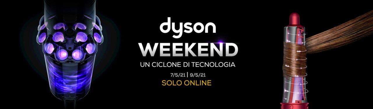 """Offerte Euronics """"Dyson Weekend"""" 7-9 maggio: scope elettriche e piastre in sconto"""