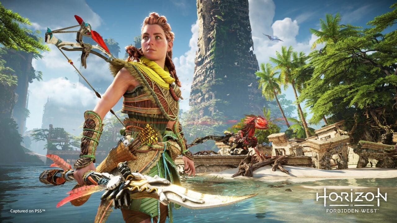 Horizon Forbidden West su PS5 è più bello che mai nel nuovo video gameplay di 14 minuti