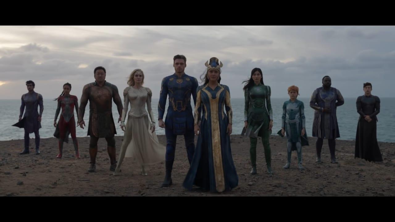 Il primo trailer di Eternals, il nuovo film Marvel in arrivo a novembre (video)