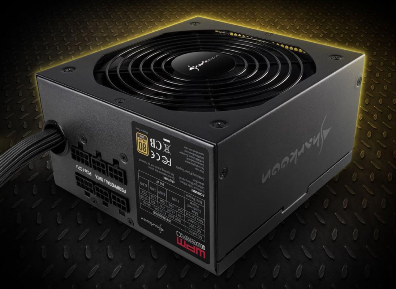 Sconto da non perdere: Alimentatore PC Sharkoon da 550W a soli 47€ su Amazon