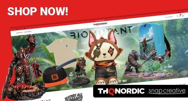 THQ Nordic apre il suo primo negozio di merchandising con articoli ispirati ai suoi famosi titoli