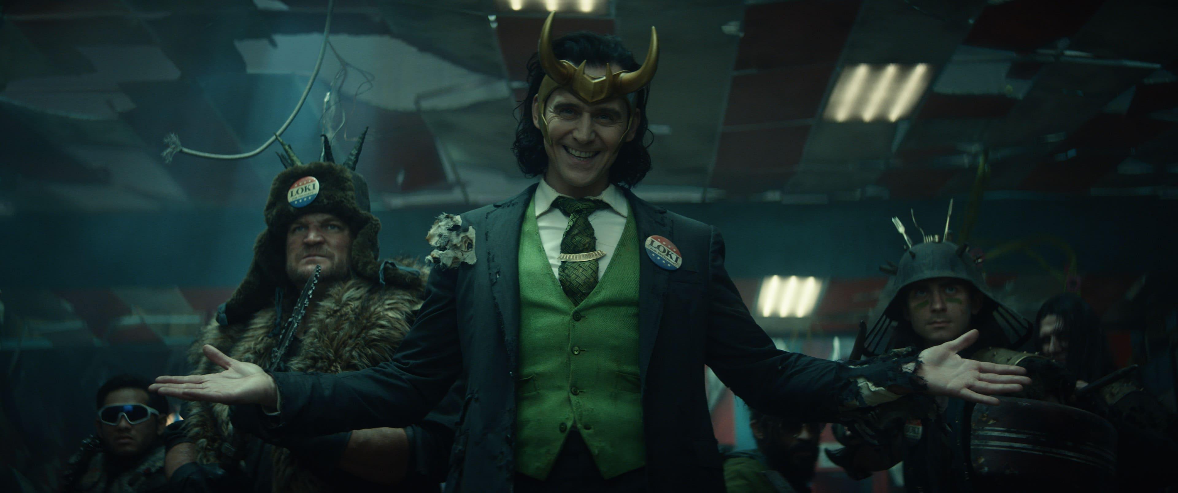 Il protagonista della serie televisiva Loki. Crediti: The Walt Disney Company e Marvel Studios.
