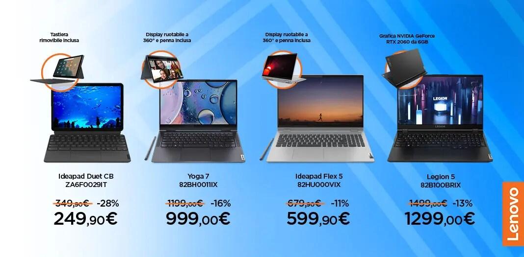 "Volantino Unieuro ""Speciale Lenovo""  …"