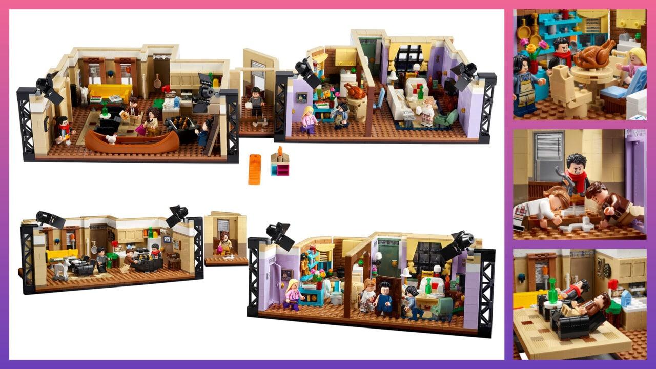 LEGO Gli appartementi di Friends: disponibile da oggi il nuovo set dedicato alla celebre Sit-Com!