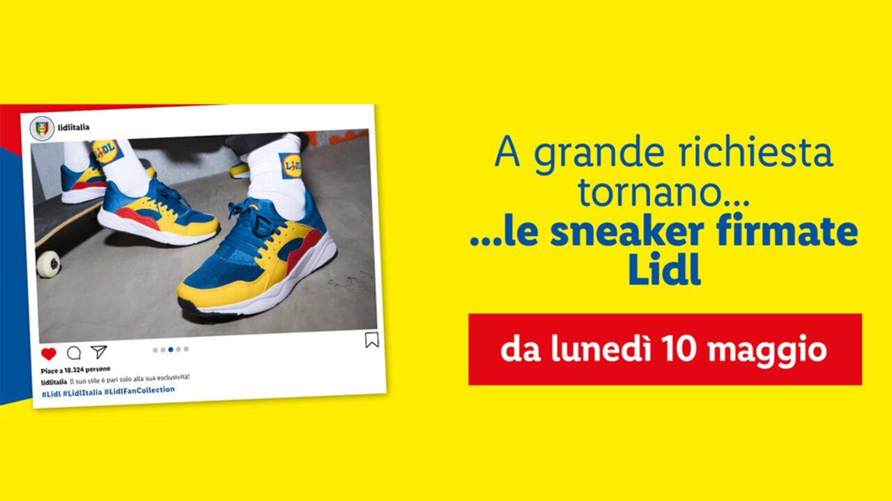 Il 2021 è salvo: stanno tornando le sneaker LIDL, tra pochissimi giorni!