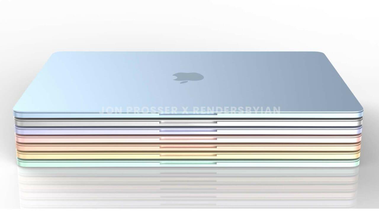 La produzione dei nuovi MacBook Air partirà nel 2022, ma la carenza di chip darà grandi problemi ad Apple