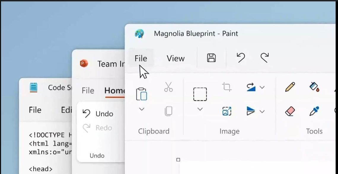 Paint e Blocco note come non li avete mai visti: anche loro saranno aggiornati da Microsoft al Fluent design