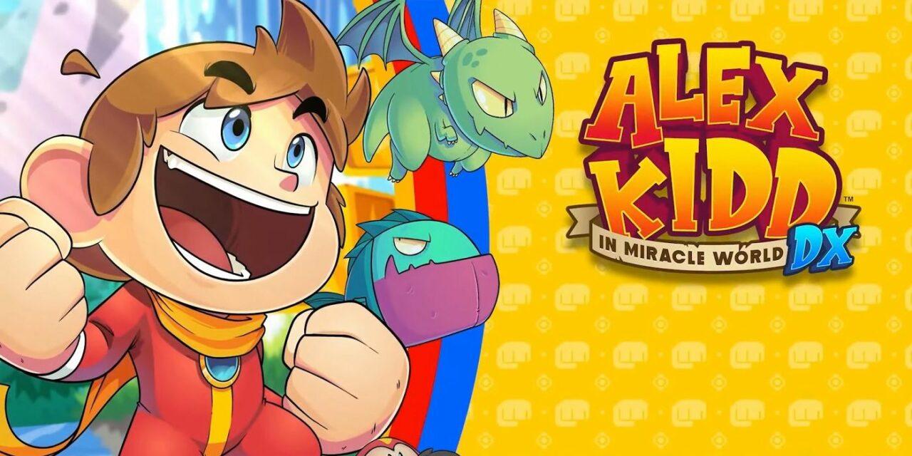 Il gusto retro di Alex Kidd in Miracle World DX è da oggi disponibile su console e PC, anche next-gen! (video)