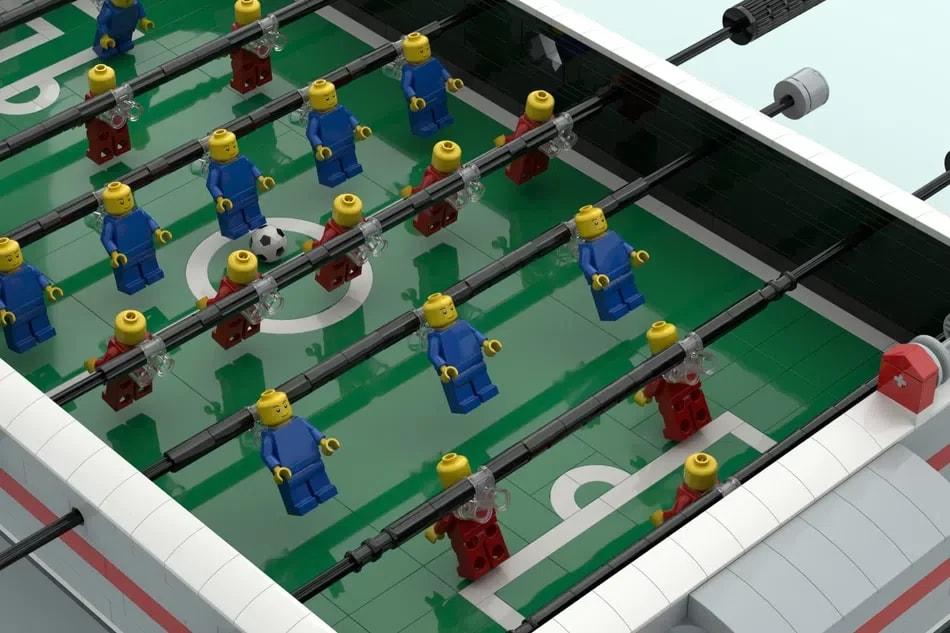 Mostrato il nuovo set LEGO Ideas dal divertimento assicurato: LEGO Foosball table (foto)