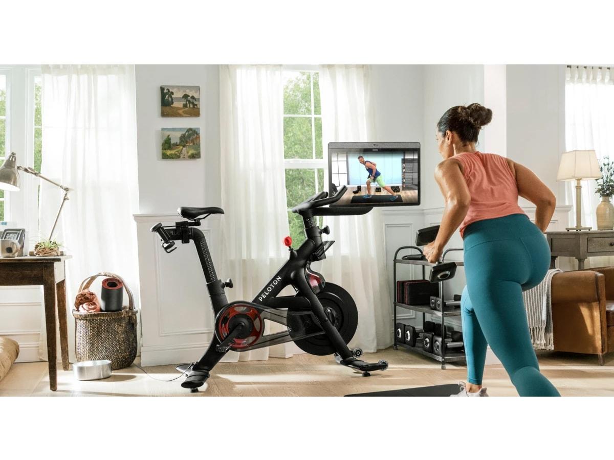 L'app peloton per l'attività fisica in casa