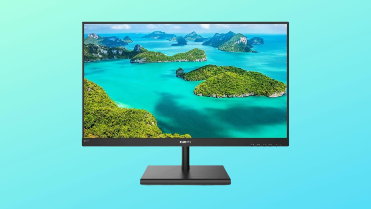 Monitor Philips 27″ in offerta a 146€: pensa ai vostri occhi e costa poco!