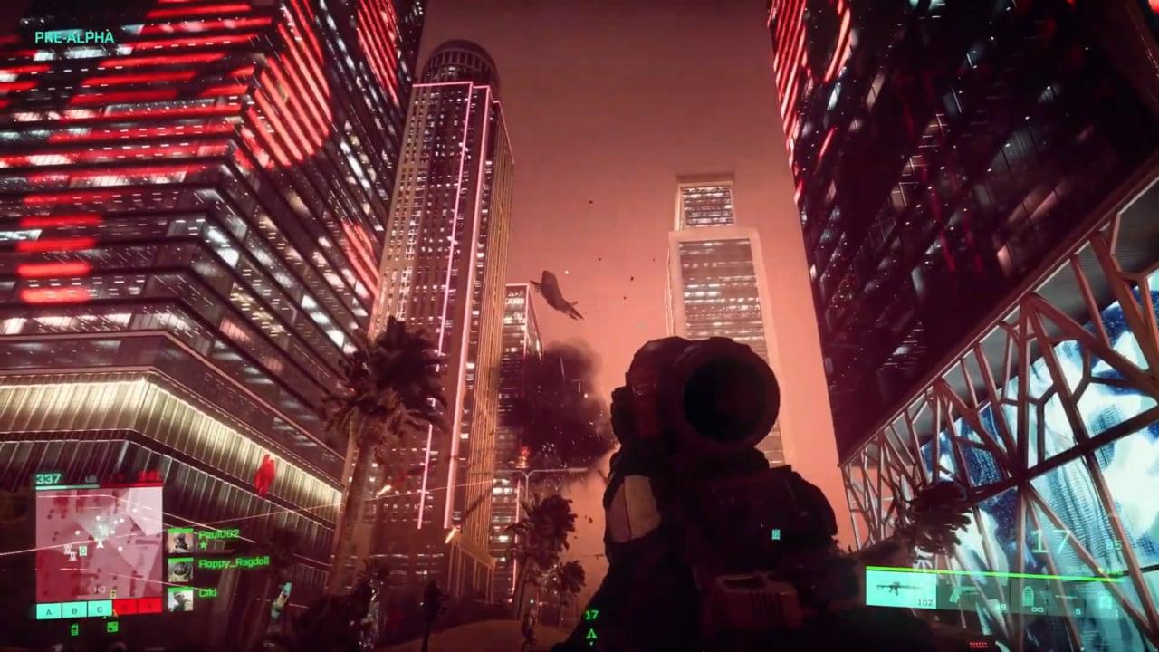 Il trailer gameplay di Battlefield 2042 è a dir poco fuori di testa