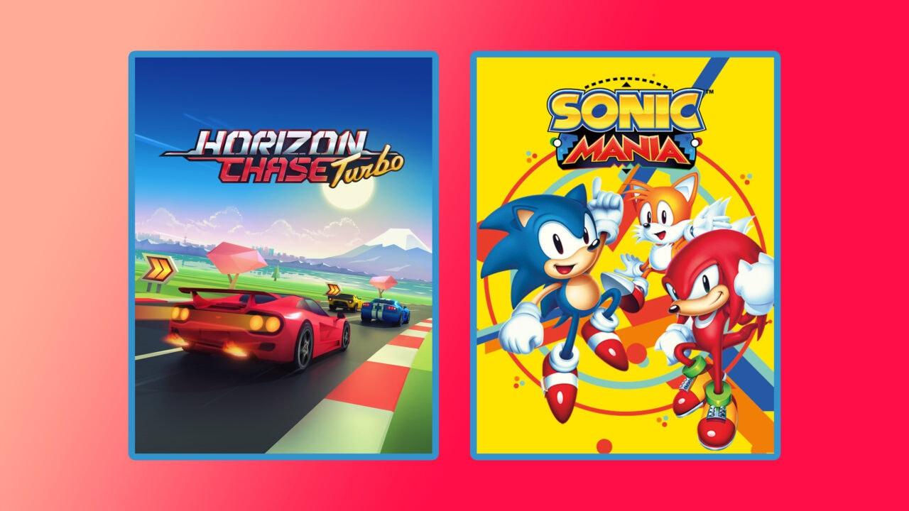 Sonic Mania e Horizon Chase Turbo gratis su Epic Games Store dal 24 giugno al 1 luglio (video)