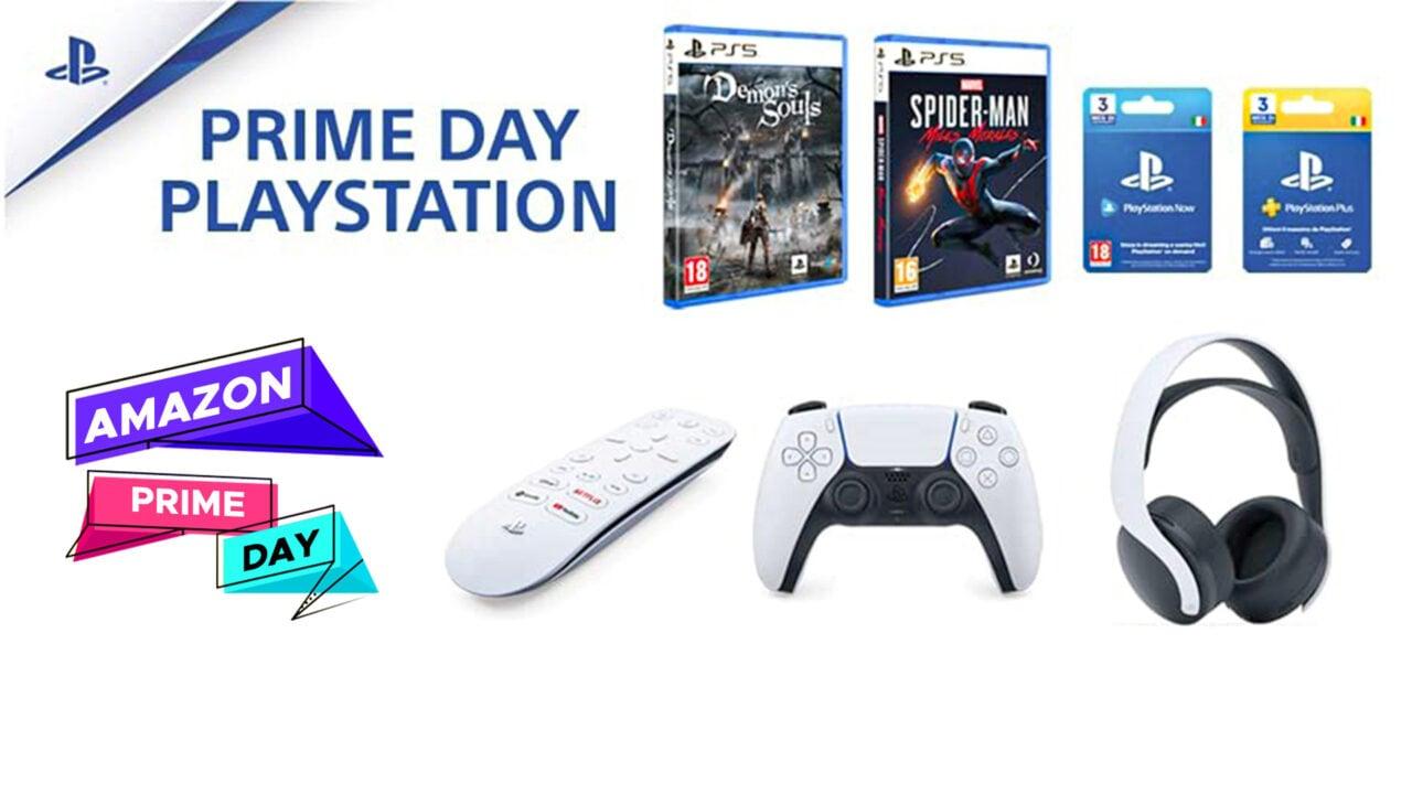 Il Prime Day PlayStation: sconti su giochi e accessori PS5 e PS4 (aggiornato: CoD a 39€)