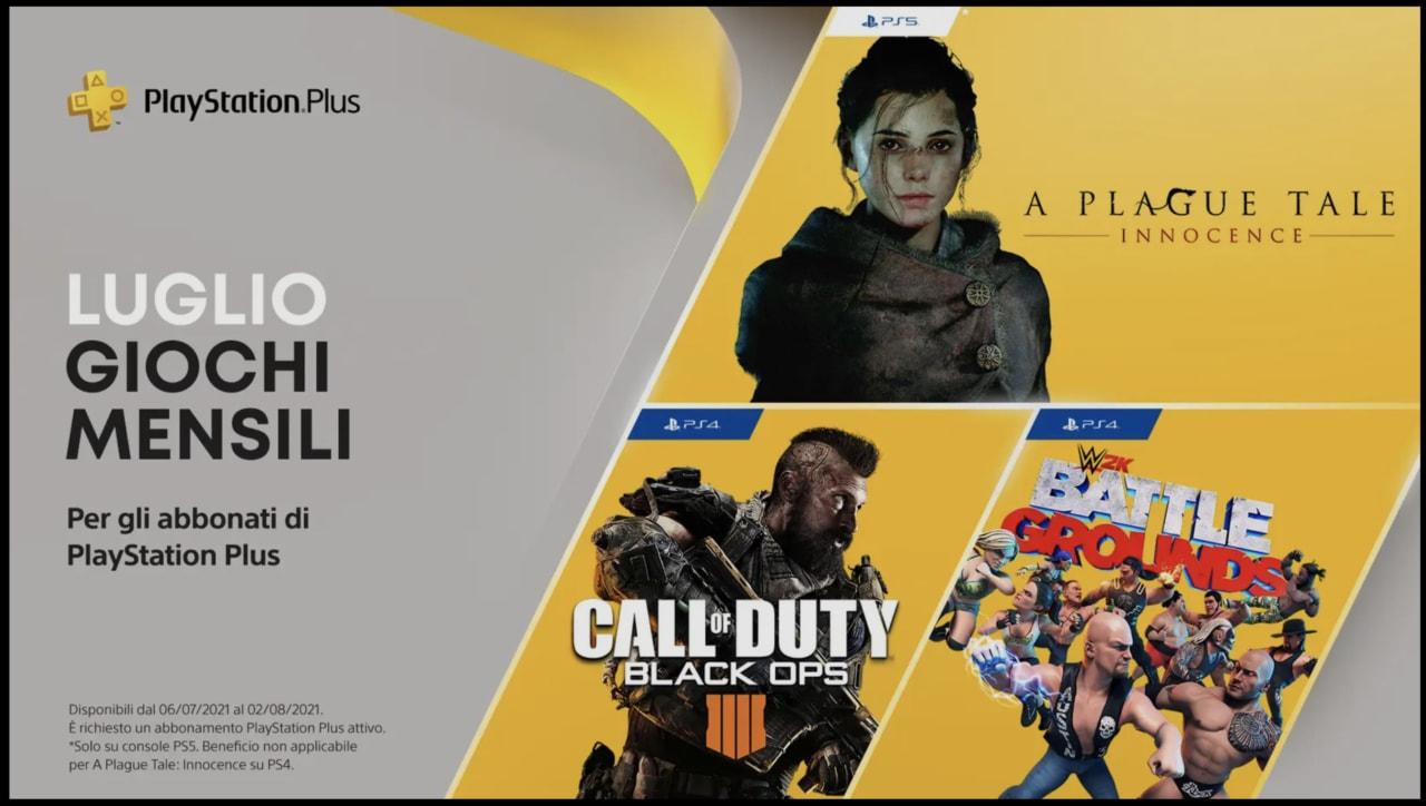 Giochi PlayStation Plus di luglio: arriva Call of Duty: Black Ops 4
