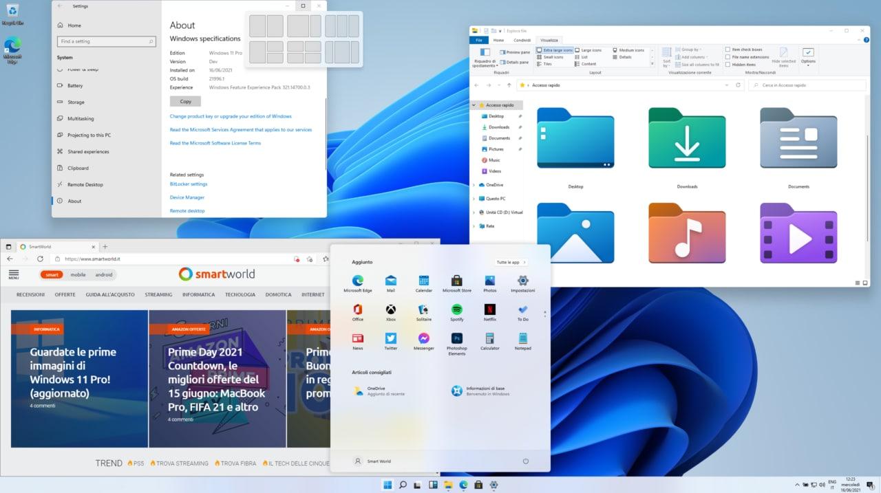 Sale l'attesa per Windows 11: arriva un nuovo trailer (video)