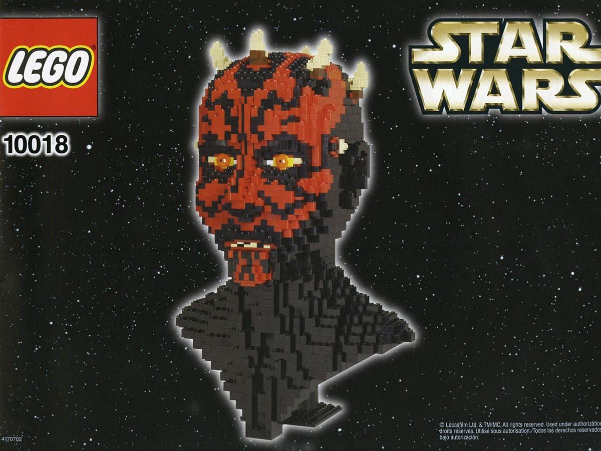 Il set LEGO Darth Maul. Crediti: The Lego Group.
