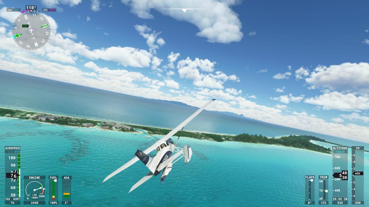Microsoft Flight Simulator è una bomba su Xbox Series X!