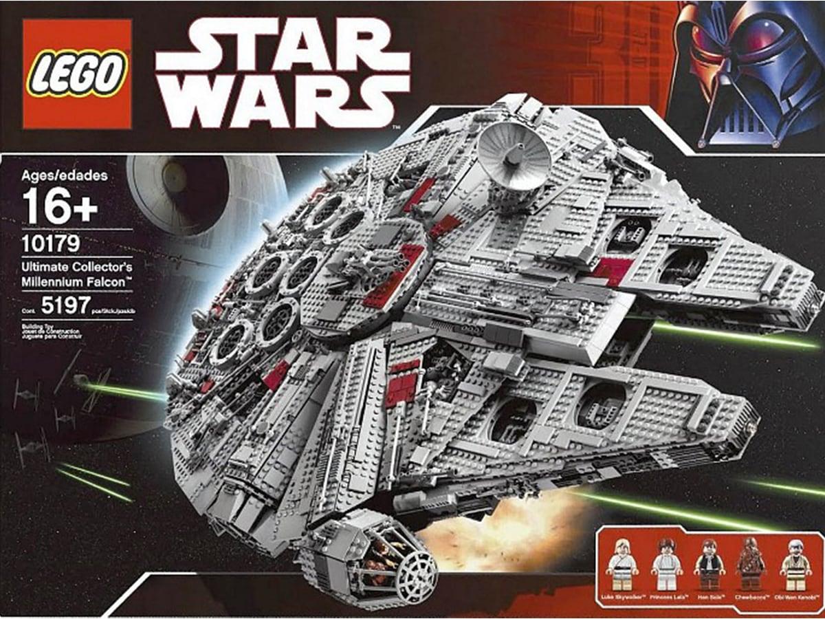 Il set LEGO Ultimate Collector's Millennium Falcon. Crediti: The Lego Group.