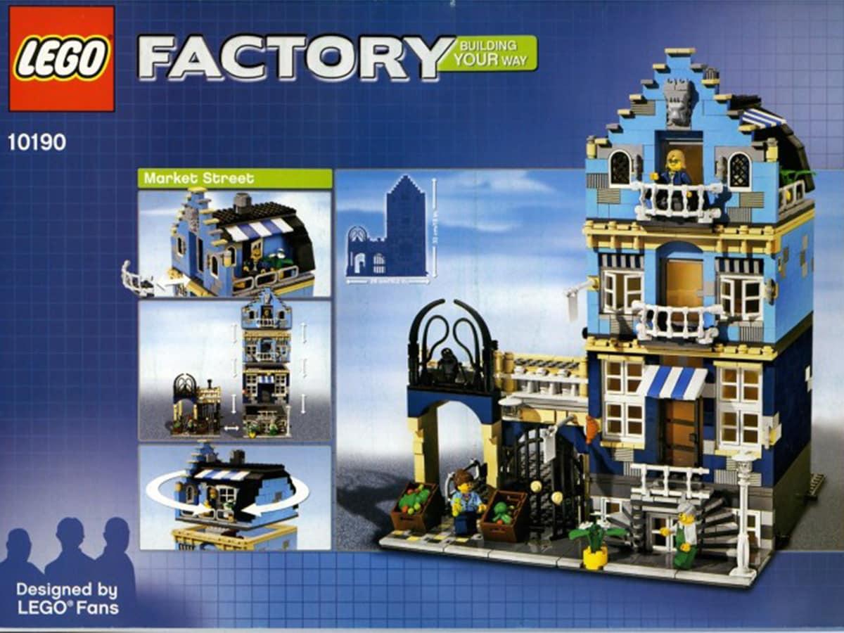 Il set Market Street. Crediti: The Lego Group.